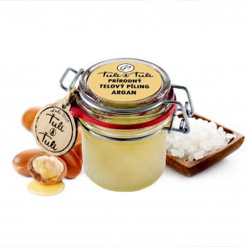 Ťuli a Ťuli - Prírodný telový peeling Argan 85 ml