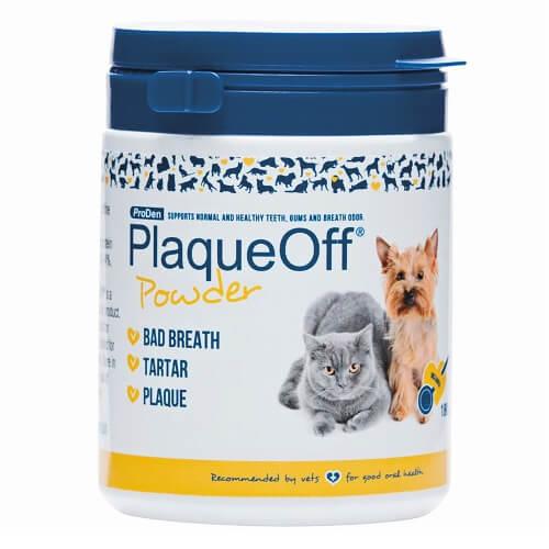 PlaqueOff Doplnok výživy pre psy a mačky, ProDen PlaqueOff Powder 180g 180 g