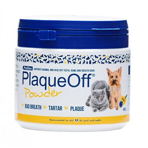 PlaqueOff Doplnok výživy pre psy a mačky, ProDen PlaqueOff Powder 420g 420 g