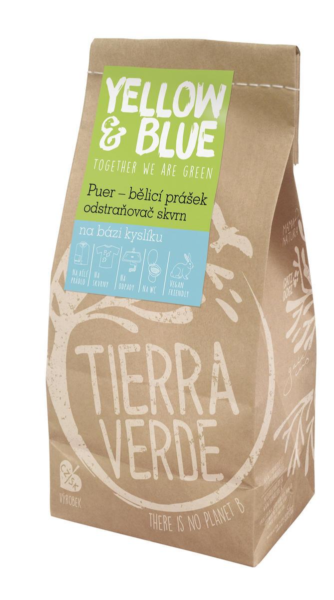 Puer – bieliaci prášok a odstraňovač škvŕn na báze kyslíka 1 kg (pap. vrecko)
