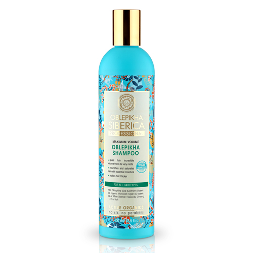 Natura Siberica Rakytníkový šampón pre všetky typy vlasov - Maximálny objem 400 ml