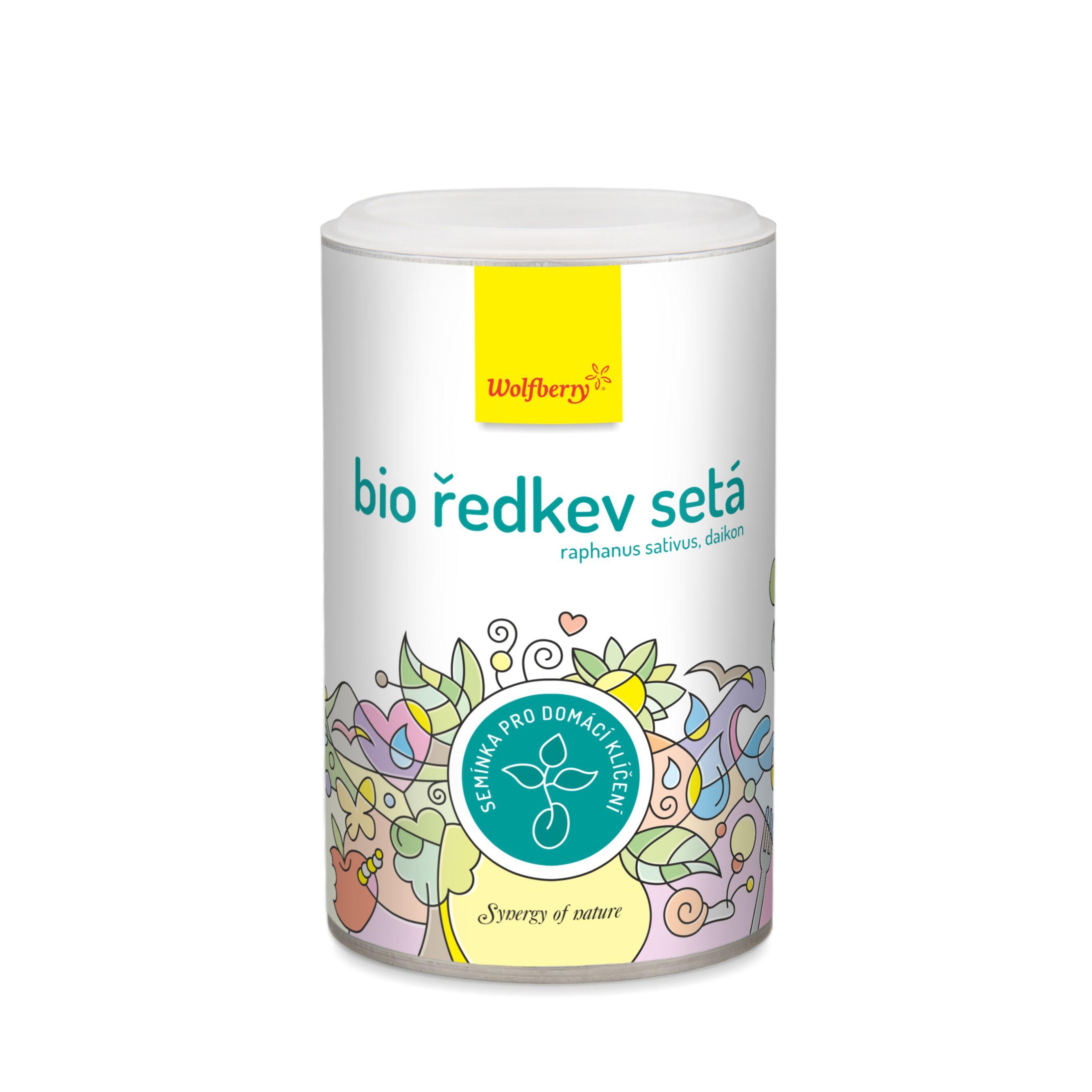 Wolfberry Reďkev BIO 200 g Wolfberry - semienka na klíčenie * 200 g