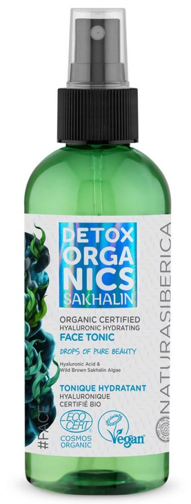 Detox organics - Sakhalin - hyaluronové hydratačné pleťové tonikum