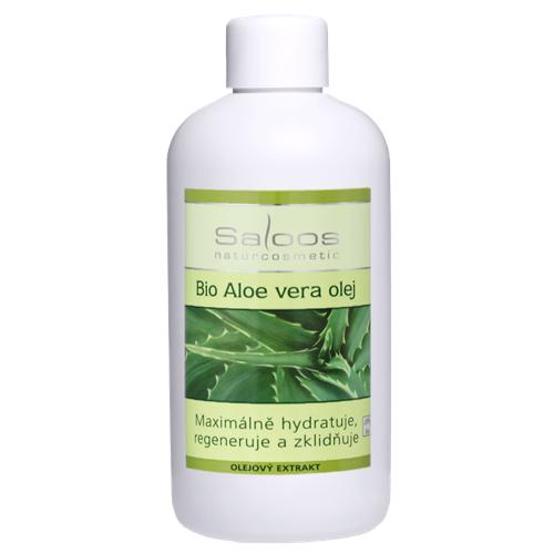 Saloos Bio Aloe vera olej 250 ml 250 ml