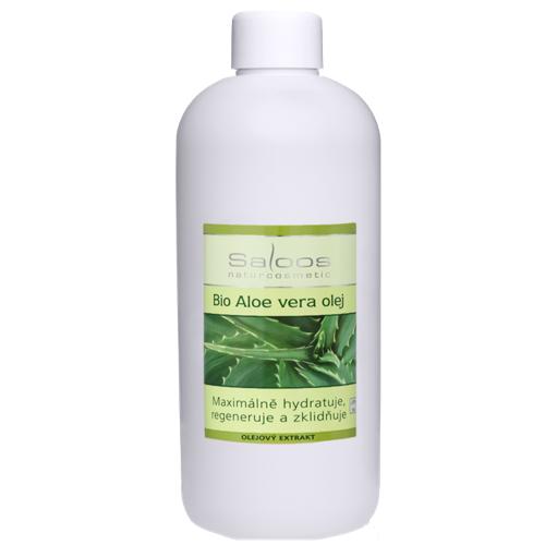 Saloos Bio Aloe vera olej 500 ml 500 ml
