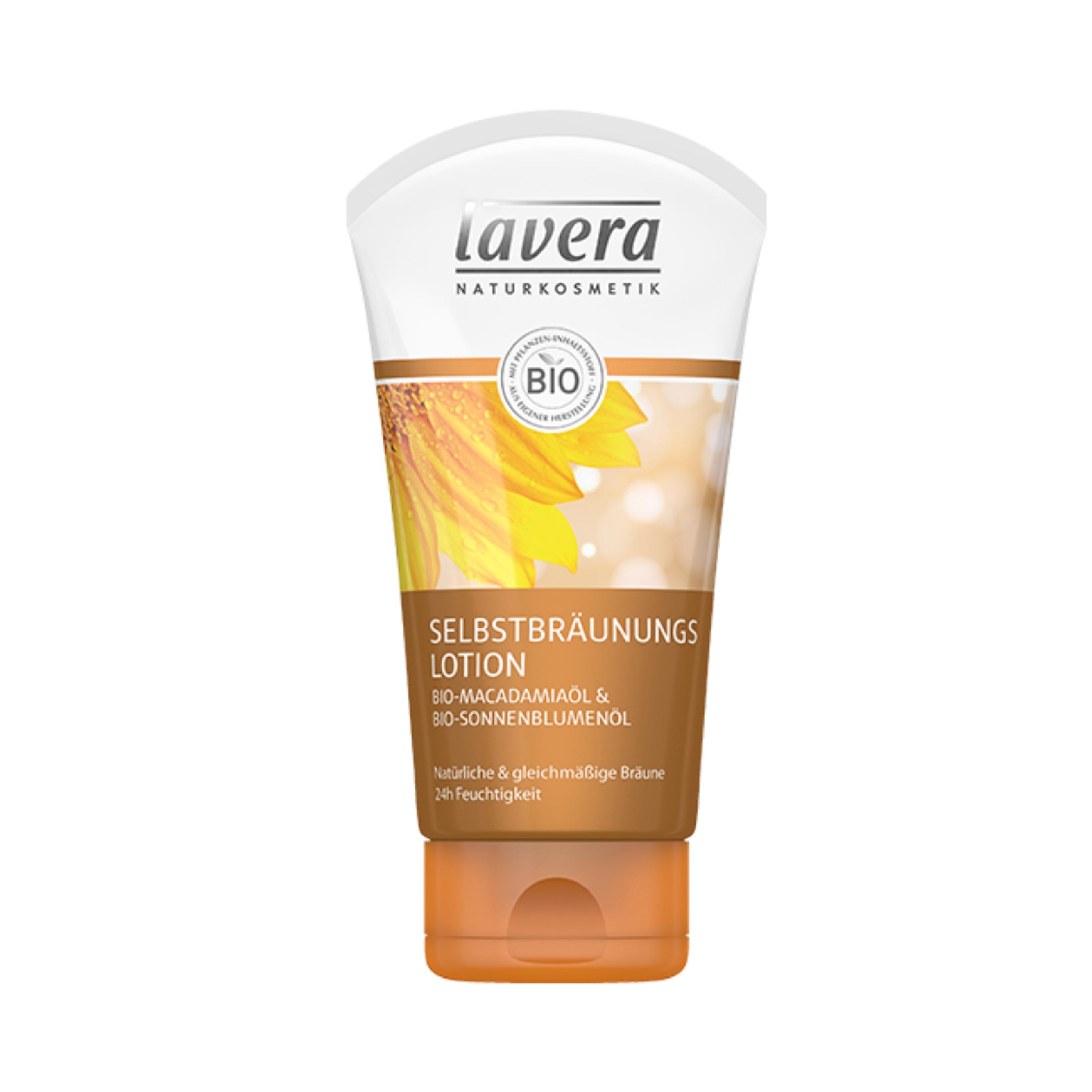Samoopaľovacie telové mlieko 150 ml Lavera