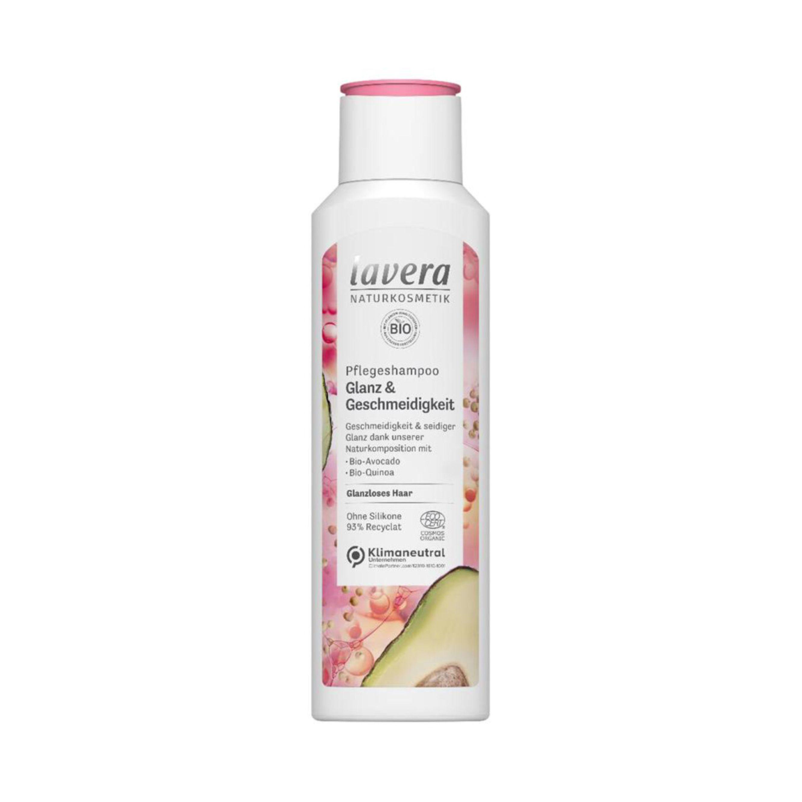 Šampón Glanz & Geschmeidigkeit 250 ml Lavera