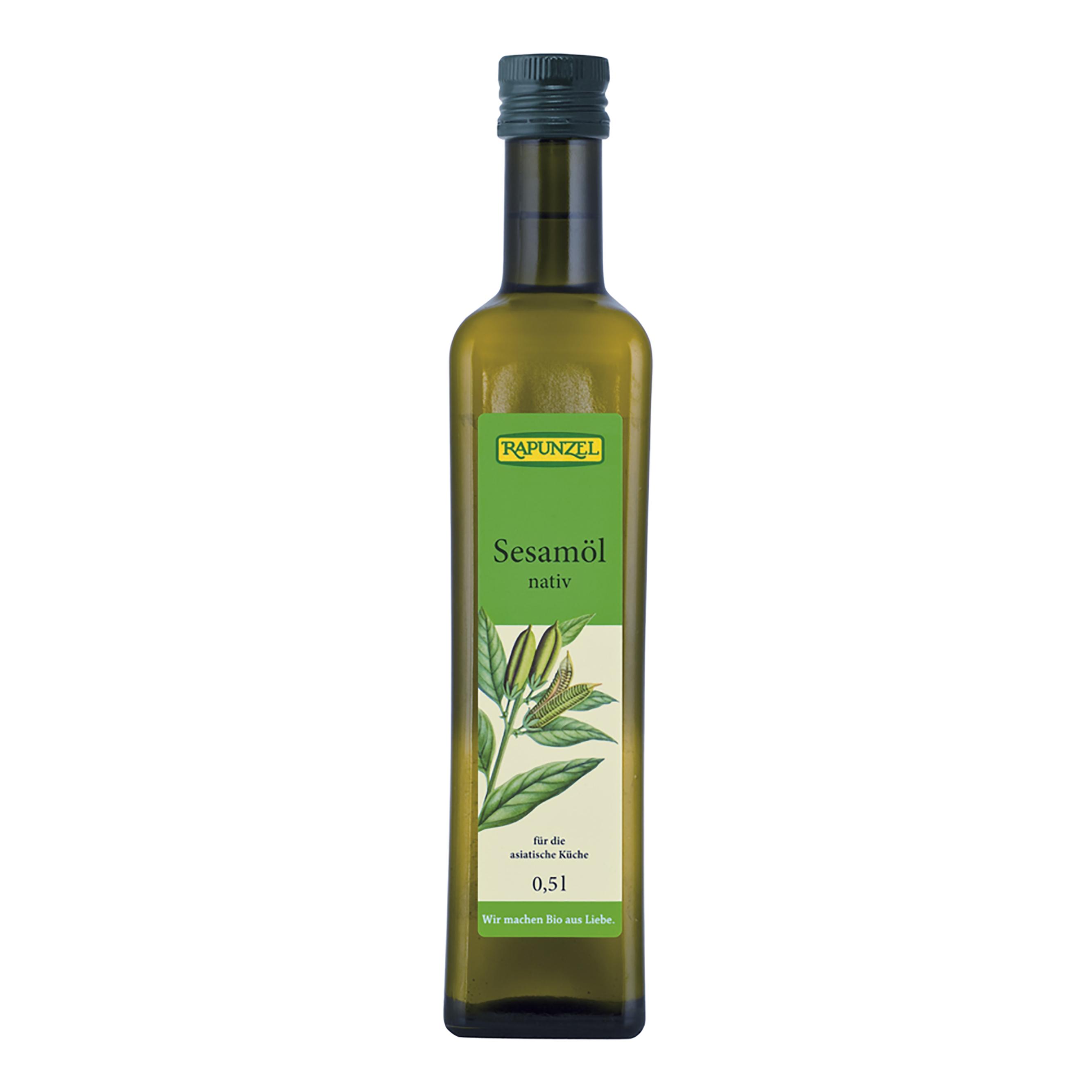 Rapunzel Sezamový olej BIO 500 ml Rapunzel * 500ml
