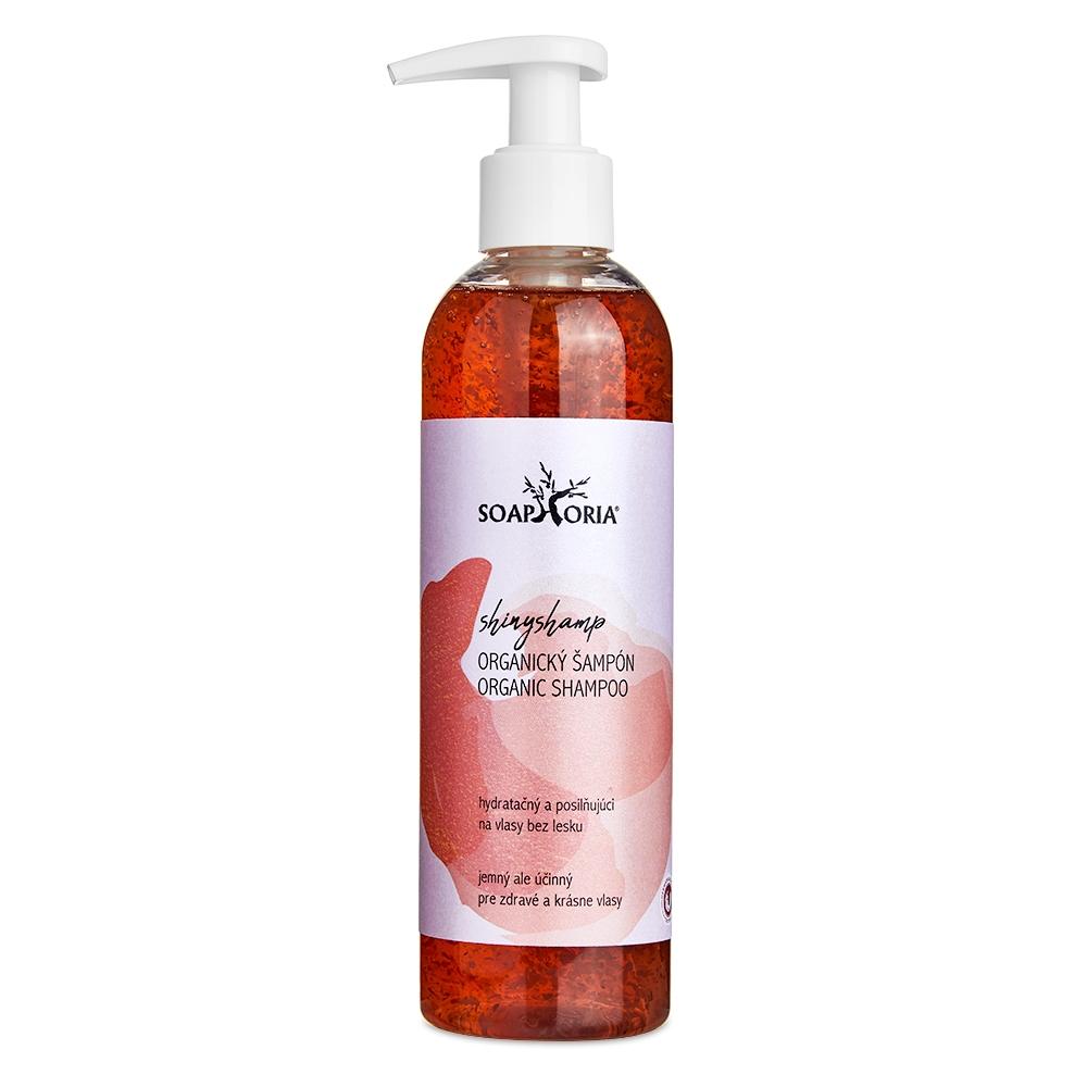 ShinyShamp - organický tekutý šampón na normálne vlasy bez lesku