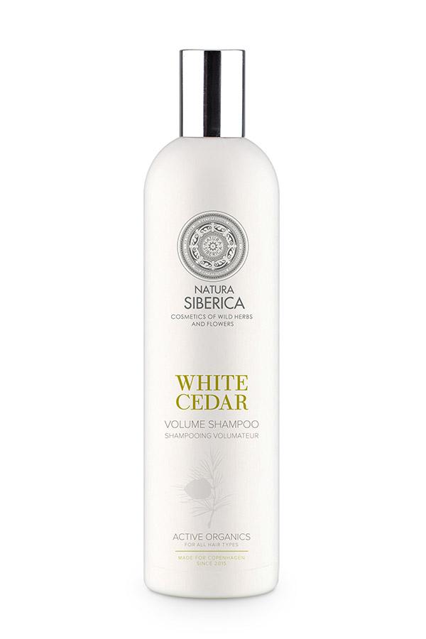 Siberie Blanche - Biely céder - šampón pre objem