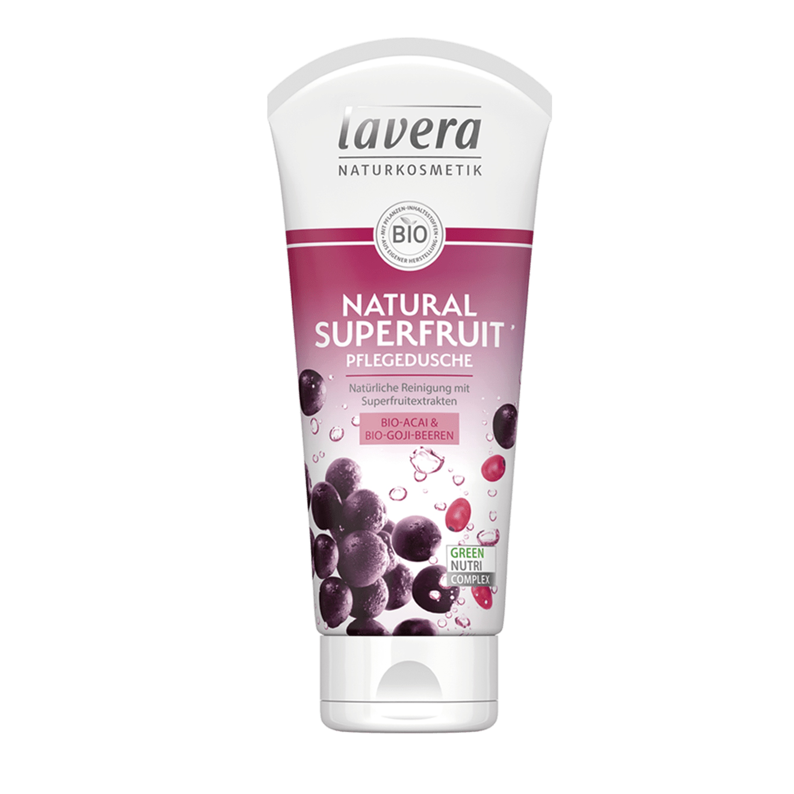 Sprchový gél Natural superfruit 200 ml Lavera