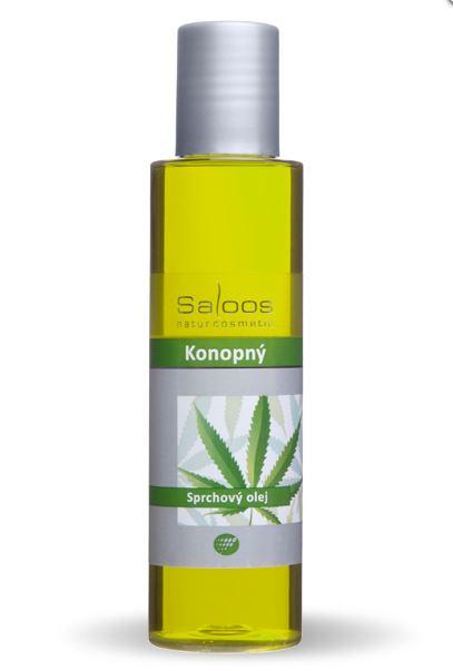 Saloos Konopný sprchový olej 125 ml 125 ml