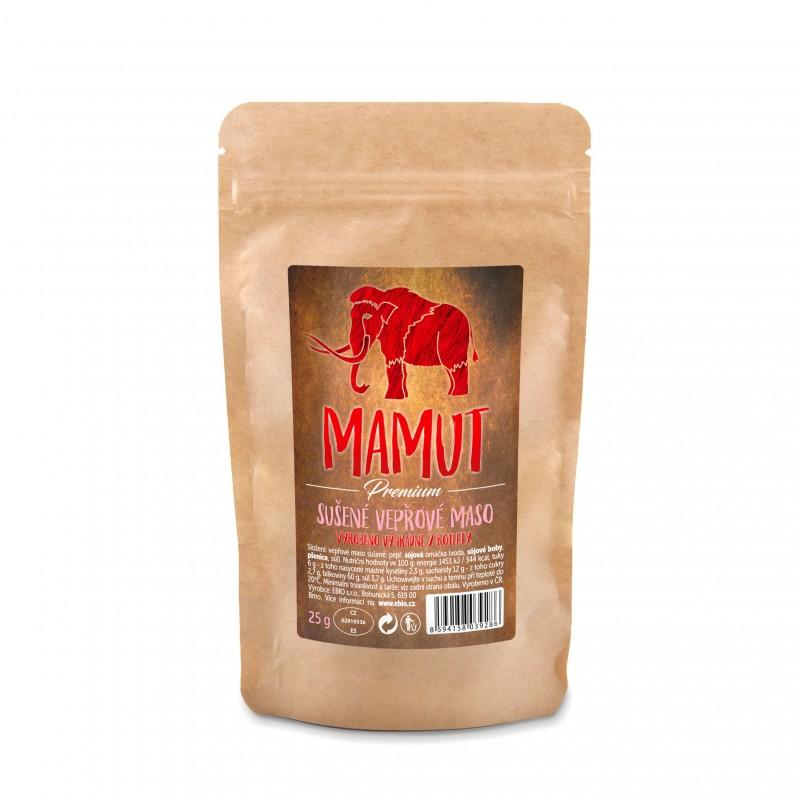 Mamut WF Sušené bravčové mäso rovno do pusy 25 g Mamut 25 g