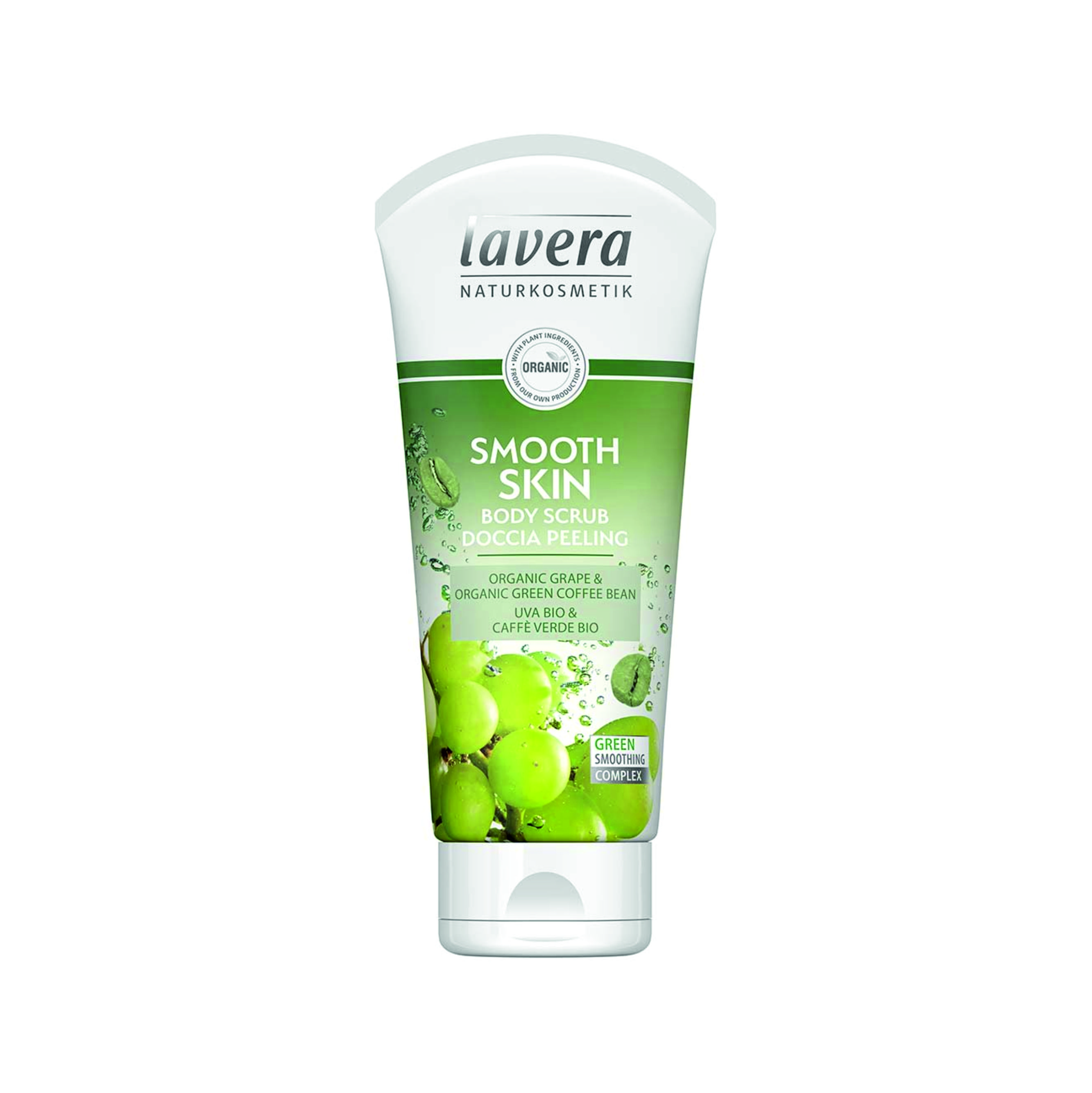 Telový peeling Smooth Skin BIO 200 ml Lavera