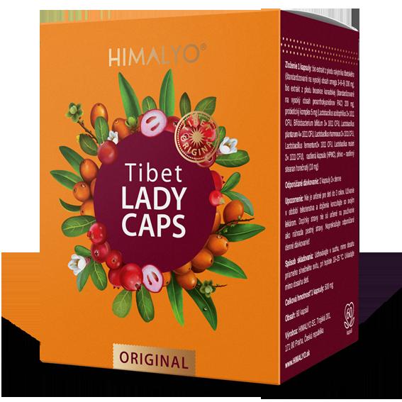 Tibet lady caps 60 cps BIO