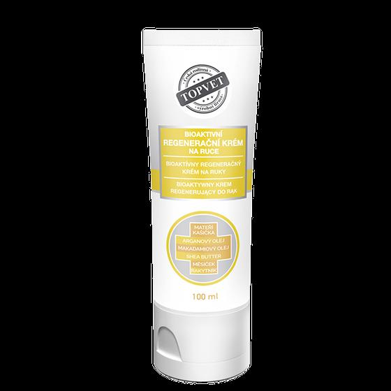 TOPVET TOPVET Bioaktívny regeneračný krém na ruky 100ml 100 ml