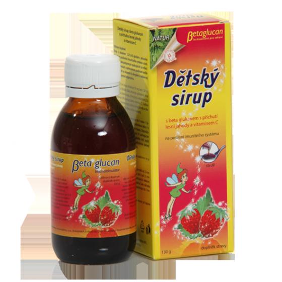 TOPVET Detský sirup s príchuťou lesnej jahody a vitam. C 130g 130 g