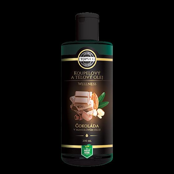 TOPVET Čokoláda v mandľovom oleji 200ml 200 ml