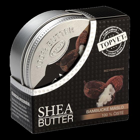 TOPVET Bambucké maslo (shea butter 100%) 100ml 100 ml