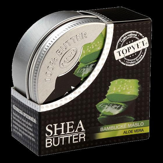 TOPVET Bambucké maslo (shea butter) s aloe vera 100ml 100 ml