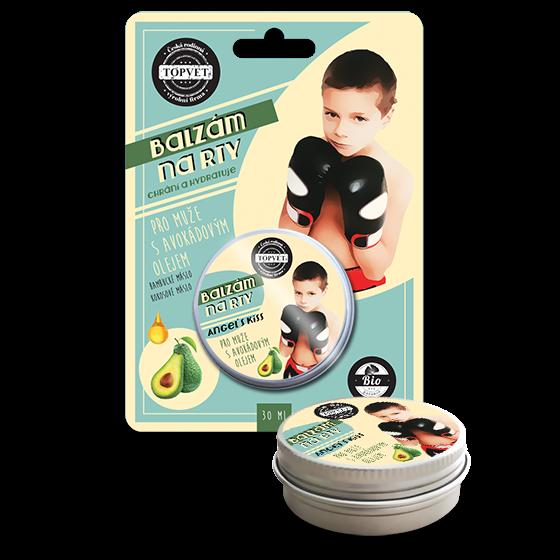 TOPVET Balzam na pery - Pre mužov s avokádovým olejom 30ml 30 ml