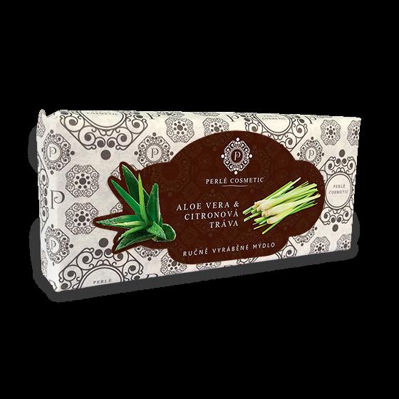 TOPVET Mydlo Aloe vera a citronova trava 115g 115 g