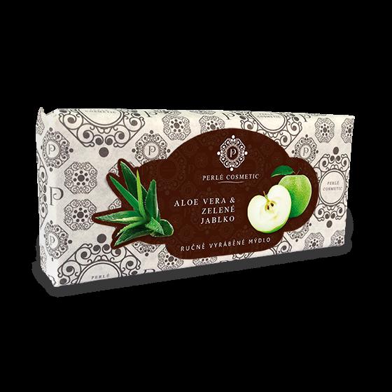 TOPVET Mydlo Aloe vera a zelené jablko 115g 115 g