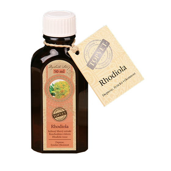 Rhodiola - Rozchodnica - tinktúra - kvapky 50ml