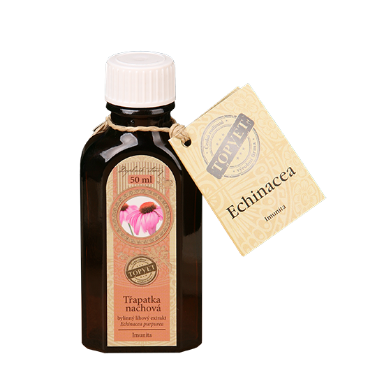TOPVET Echinacea tinktúra - kvapky 50ml 50 ml