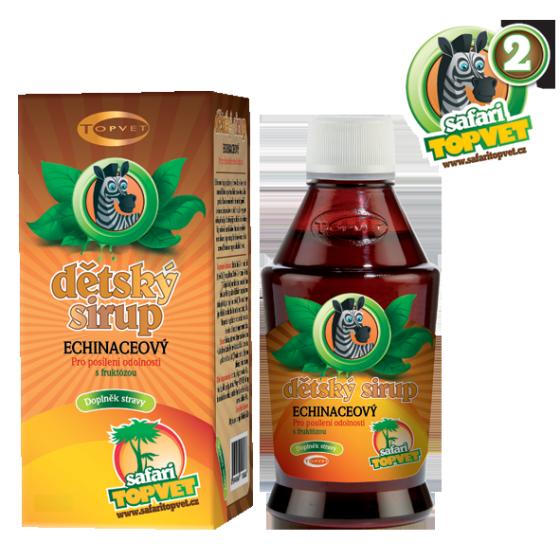 Echinacea detský sirup s fruktózou 300g