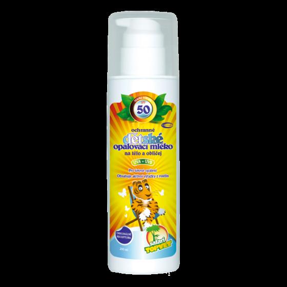 Detské opaľovacie mlieko SPF 50 200ml