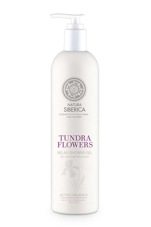 Natura Siberica Siberie Blanche - kvety Tundry- relaxačný sprchový gél 400 ml