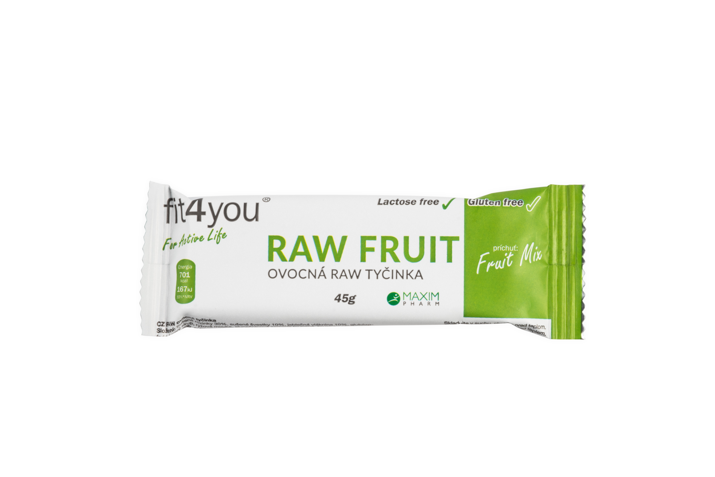 Fit4you Raw Tyčinka - ovocný mix 45g