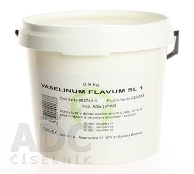 VASELINUM FLAVUM Ph.Eur. - GALVEX ung 1x900 g