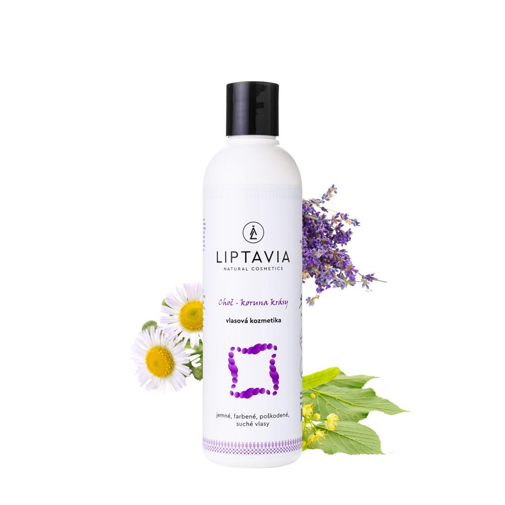 Liptavia Choč - Koruna Krásy - šampón pre jemné, farbené, poškodené vlasy 250ml