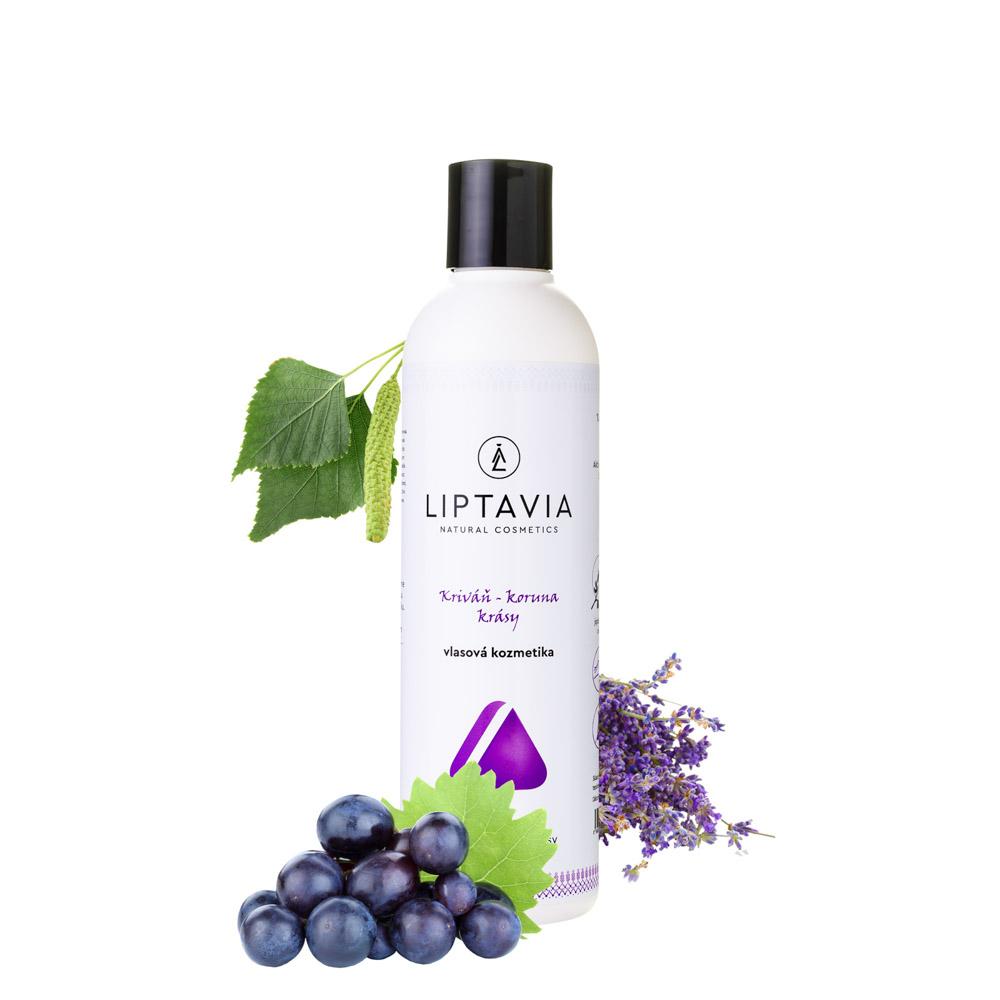 Liptavia Kriváň - Koruna Krásy - šampón pre jemné normálne vlasy 250ml