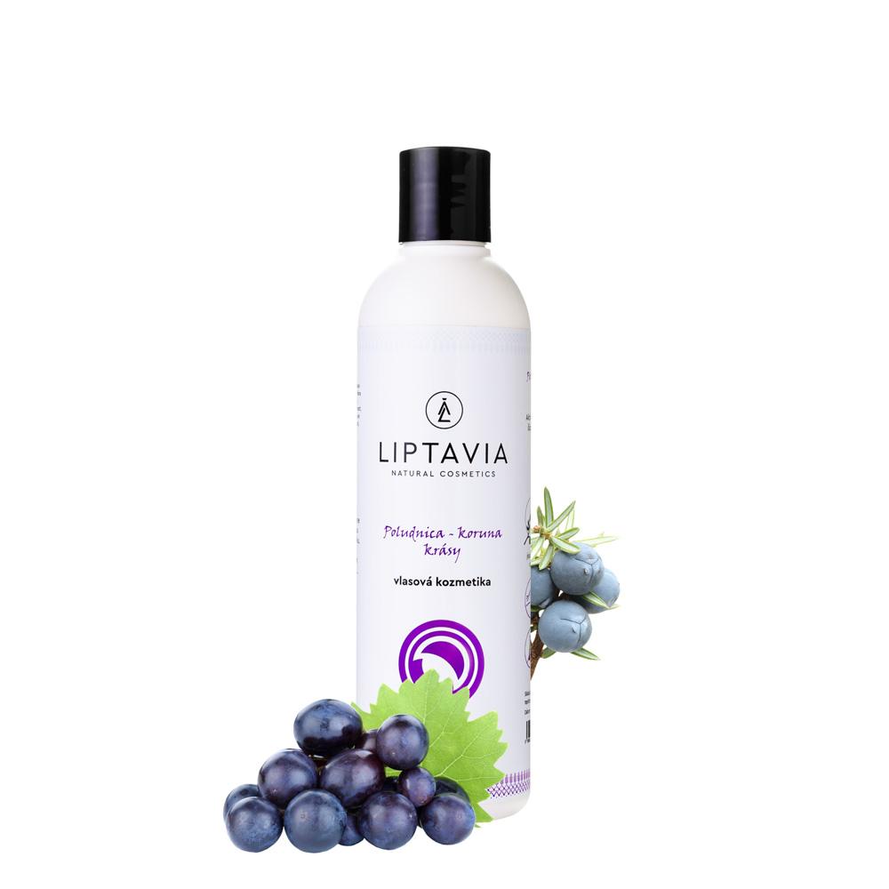 Liptavia Poludnica - Koruna Krásy - šampón pre hrubé normálne vlasy 250ml