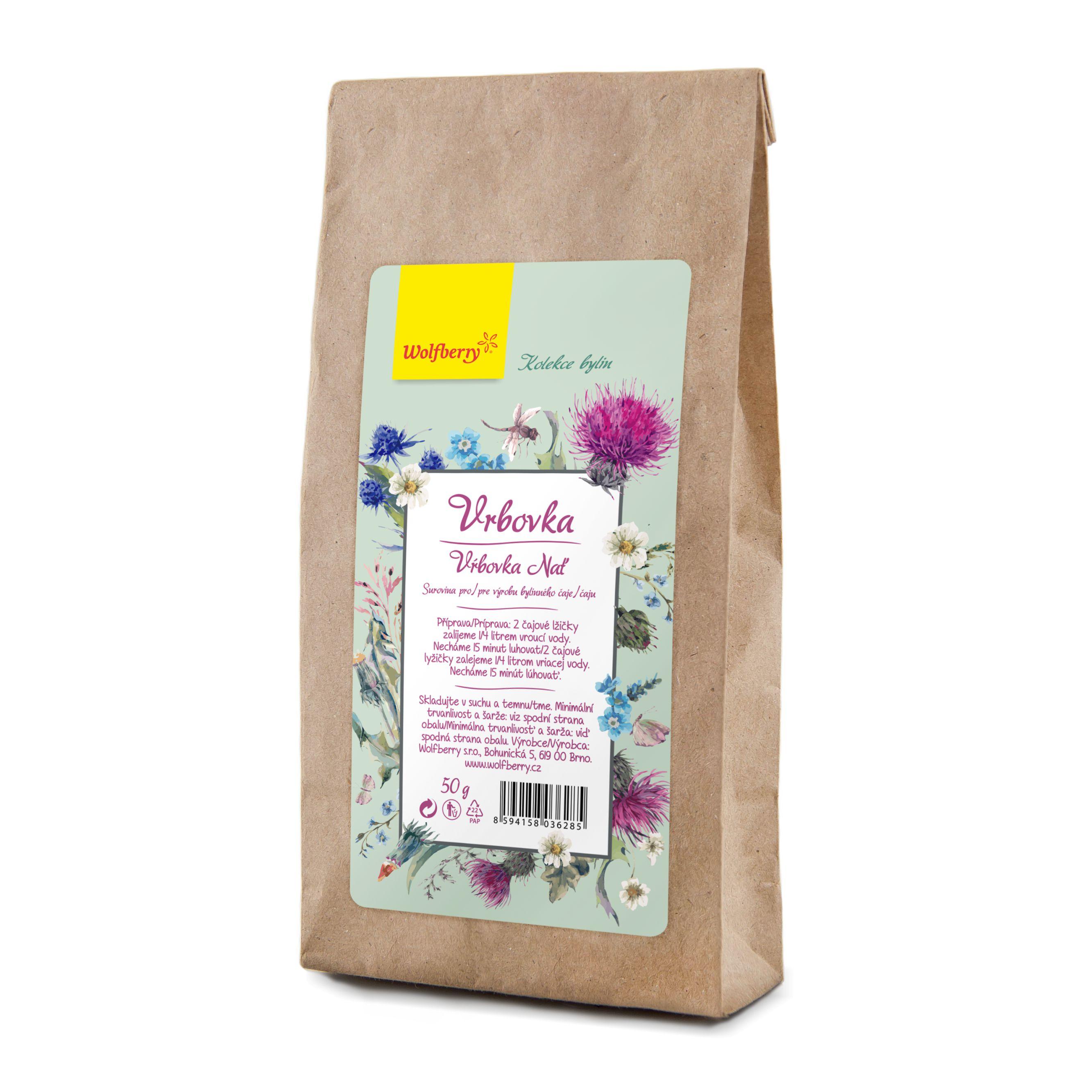 Wolfberry Vrbovka vňať bylinný čaj 50 g Wolfberry 50 g