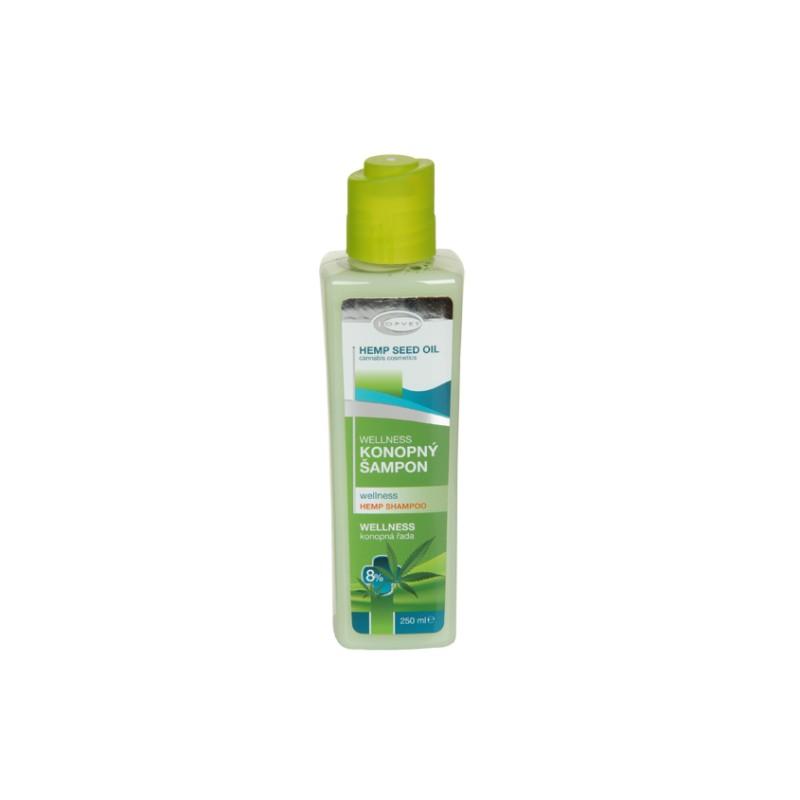 TOPVET Wellness konopný šampón 8% 250 ml 250 ml