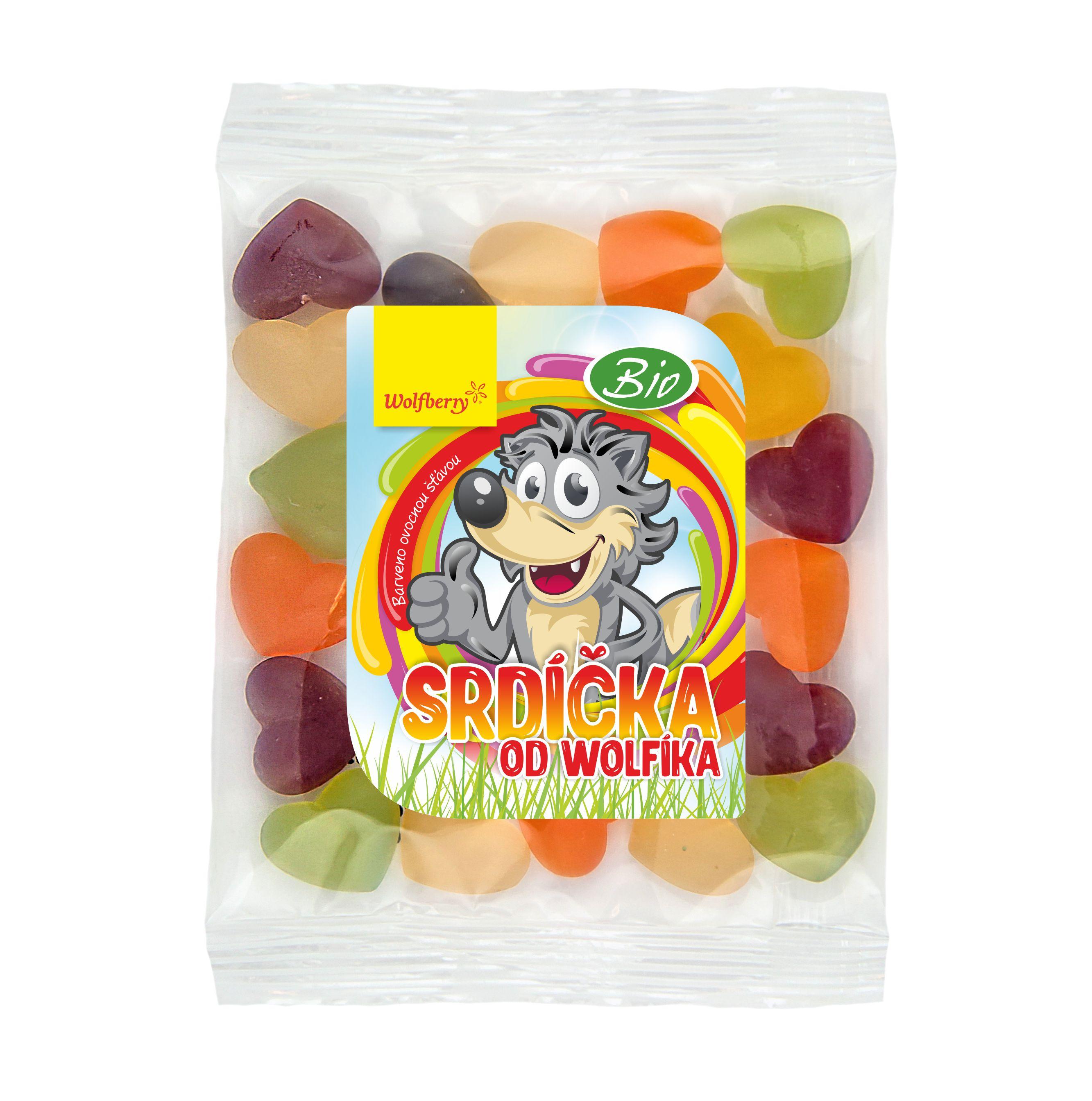 Srdiečka od Wolfíka BIO 70 g Wolfberry * vegan