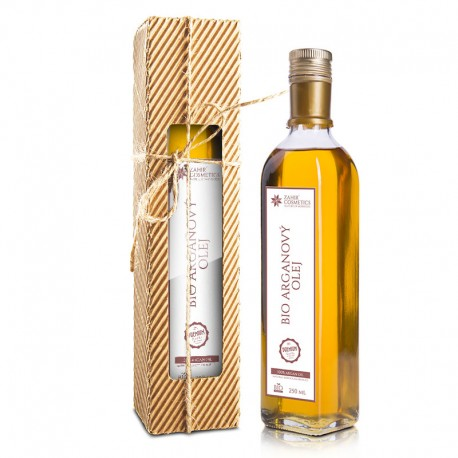 Zahir BIO Arganový olej 250 ml - darčekové balenie 250 ml
