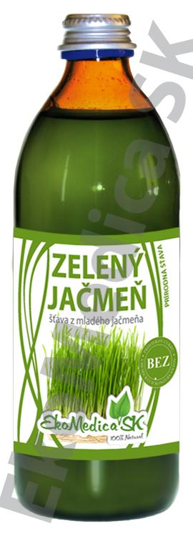 Šťava Zelený jačmeň 500 ml