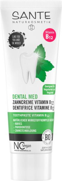 Zubná pasta s vitamínom B12 - 75ml