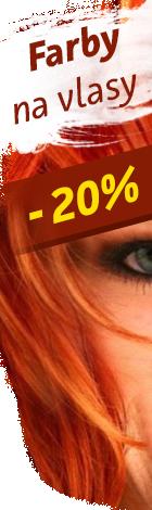 Farby na vlasy 20%