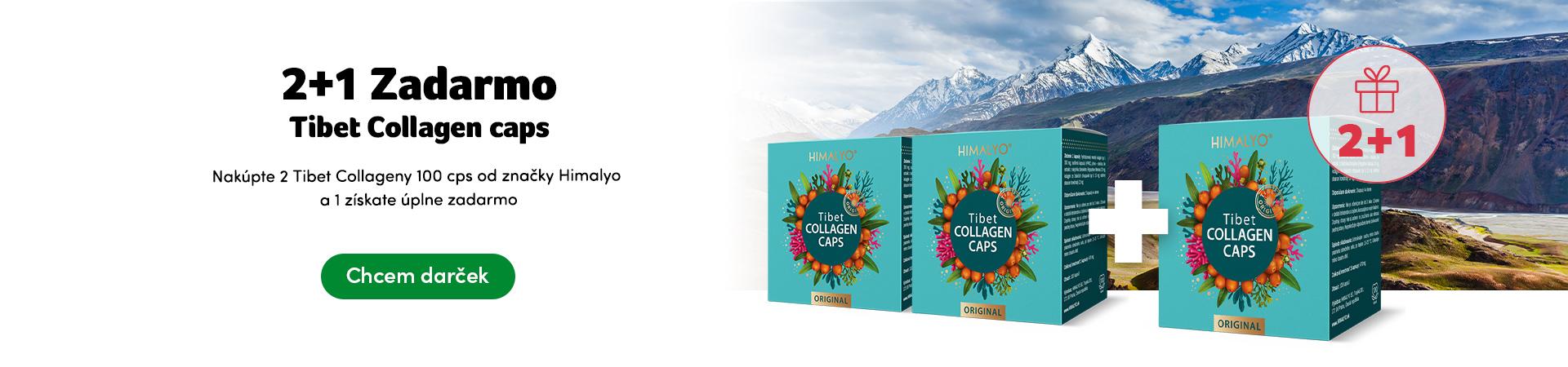 Darček Tibet Collagen 2+1