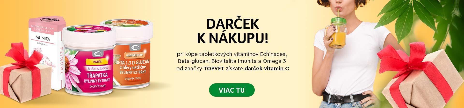 Topvet vitamic c zadarmo