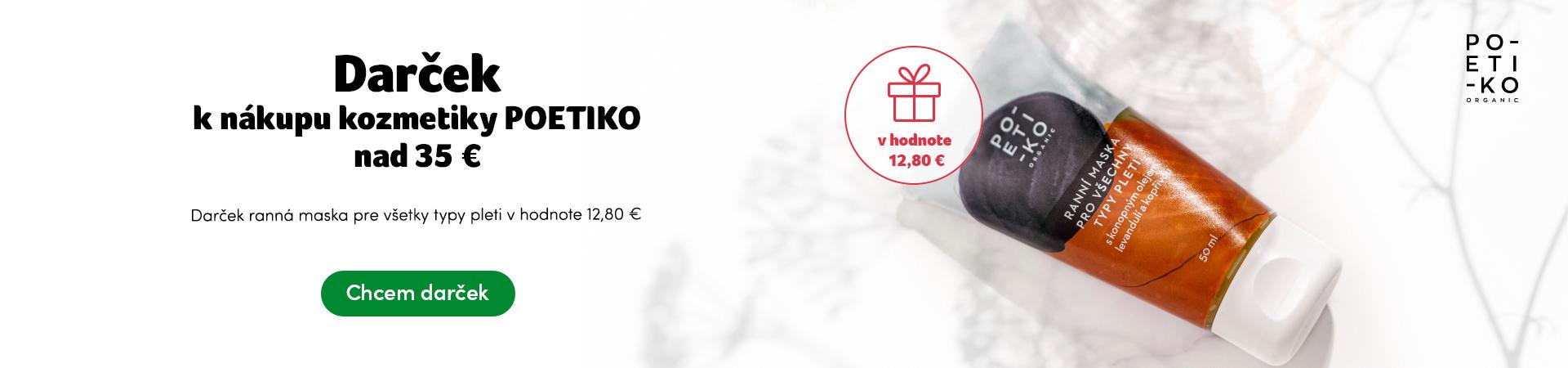 POETIKO darček pri nákupe nad 35 Eur