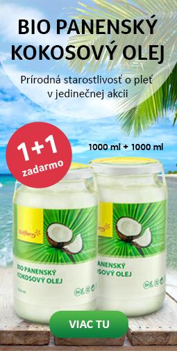 Kokosový olej WF 1+1