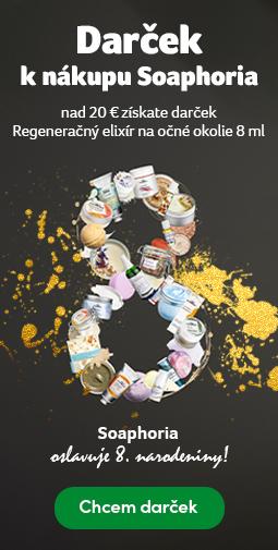 Darček k nákupu Soaphoria nad 20 € - 8. narodeniny